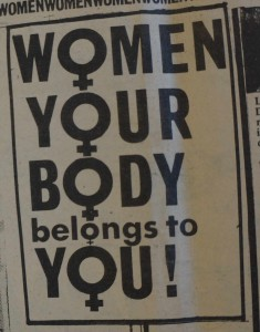 Women Your Body Belongs to You